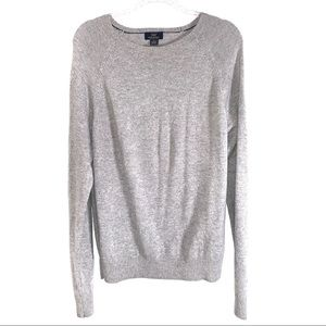 Brooks Brothers | Wool Gray Sweater Size L